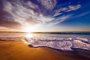 Naturwunder: ein versunkender Strand in Dooagh ist über Nacht zurückgekommen
